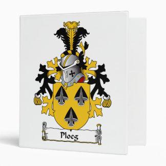 Ploeg Family Crest Binders