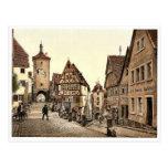 Ploenlein, Rothenburg (es decir der Tauber), Bavar Tarjetas Postales