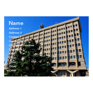 Ploiesti, Romania architecture Large Business Cards (Pack Of 100)