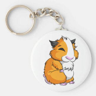 Plooshkin Hamster Keychain
