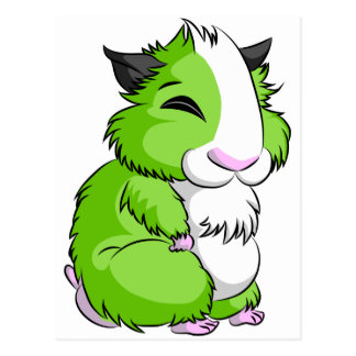 Plooshkin Hamster Postcard