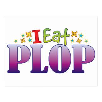 Plop I Eat Postcard