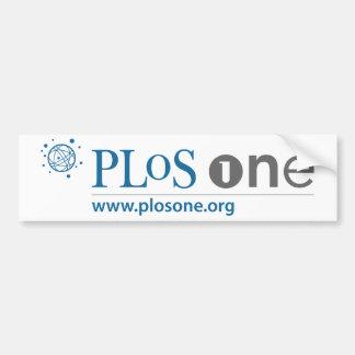 PLoS ONE Logo Bumper Sticker