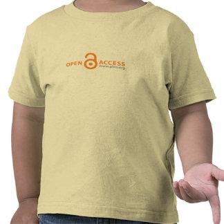 PLoS Open Access Toddler Basic T-shirt