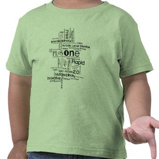 PLoS UNA 2010 camisetas del niño