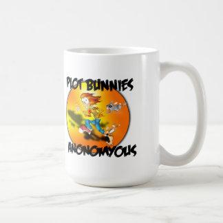 plot bunnies anonomyous coffee mug