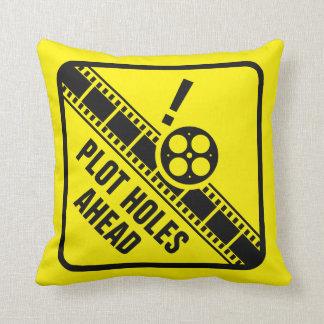 Plot Holes Pillow