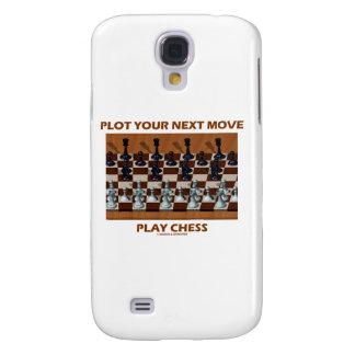 Plot Your Next Move Play Chess (Chess Stereogram) Galaxy S4 Cover