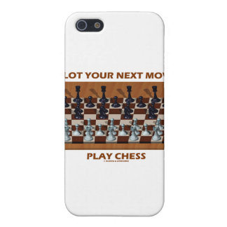 Plot Your Next Move Play Chess (Chess Stereogram) Cases For iPhone 5