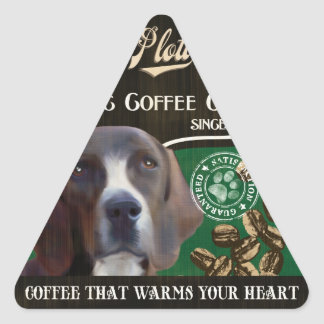 Plott Brand – Organic Coffee Company Triangle Sticker