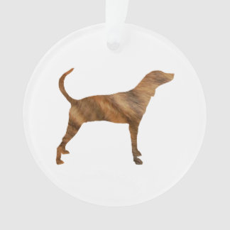 plott hound brindle silhouette.png ornament