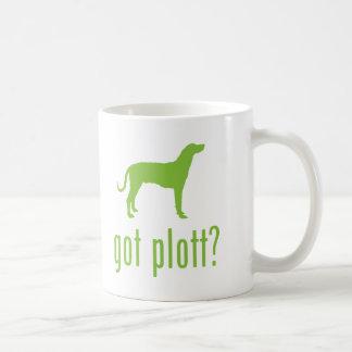 Plott Hound Classic White Coffee Mug