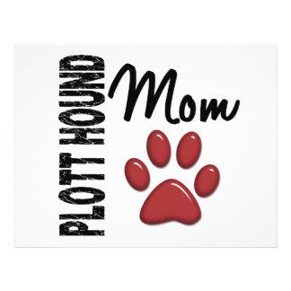 Plott Hound Mom 2 Flyer Design