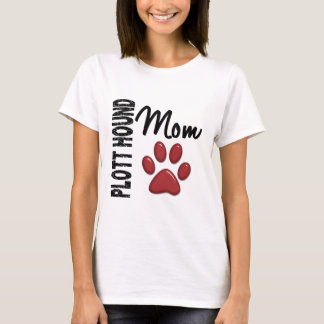 Plott Hound Mom 2 T-Shirt