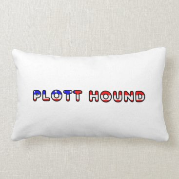 USA Themed plott usa-flag in name lumbar pillow