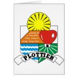 Plottier, la Argentina Tarjetón