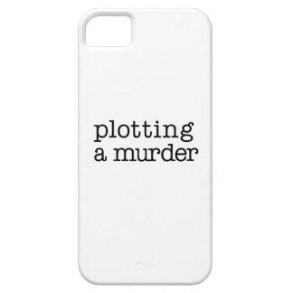 Plotting a murder iPhone case iPhone 5 Case