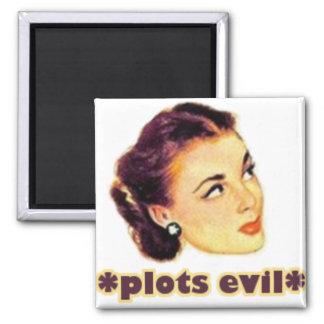Plotting Evil Magnet