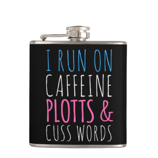 Plotts and Cuss Words Flask