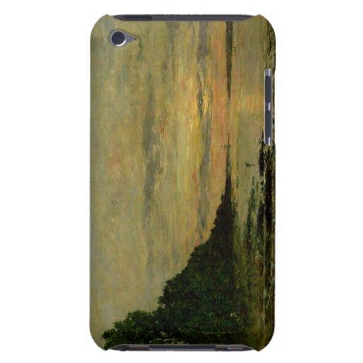 Plougastel-Daoulas, c.1870-73 (aceite en lona) iPod Case-Mate Cárcasa