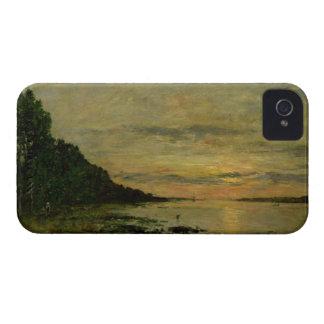 Plougastel-Daoulas, c.1870-73 (aceite en lona) iPhone 4 Cárcasa