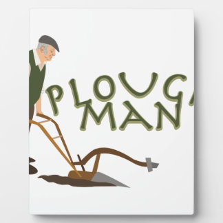 Plough Man Plaque