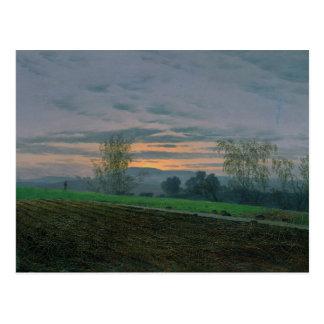 Ploughed Field, c.1830 Postcard