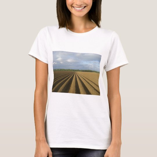 ploughed field T-Shirt