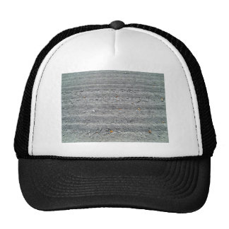 Ploughed Field with Rows Pattern Trucker Hat