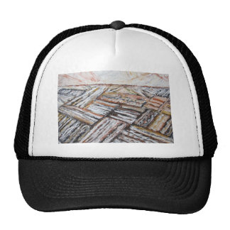 Ploughed Fields (abstract landscape) Trucker Hat