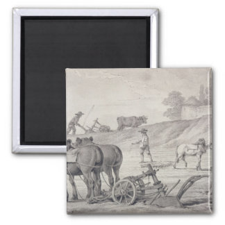 Ploughing the Fields Magnet