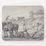 Ploughing the Fields Mousepad