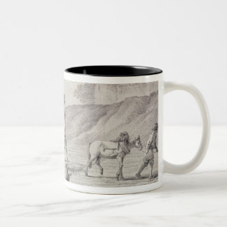 Ploughing the Fields Two-Tone Coffee Mug