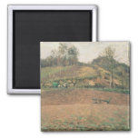 Ploughland, 1874 2 inch square magnet