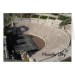 Roman Theatre Plovdiv Bulgaria Postcard