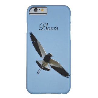 Plover bird in flight barely there iPhone 6 case
