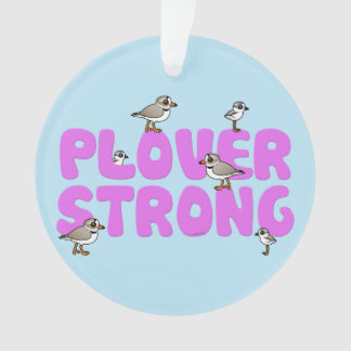 Plover Strong Ornament