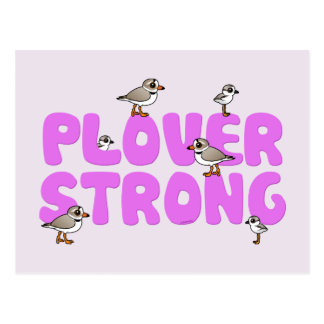 Plover Strong Postcard