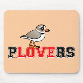 Plovers Love Mouse Pads