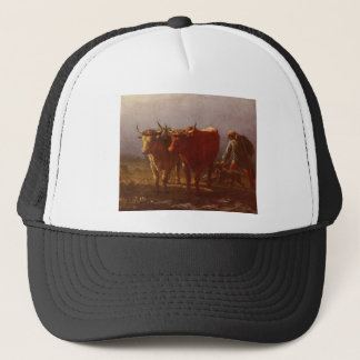 Plowing by Constant Troyon Trucker Hat