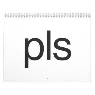 pls wall calendars