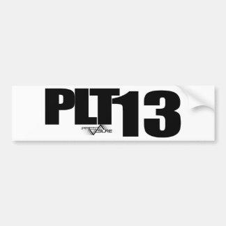 PLT13 BUMPER STICKER