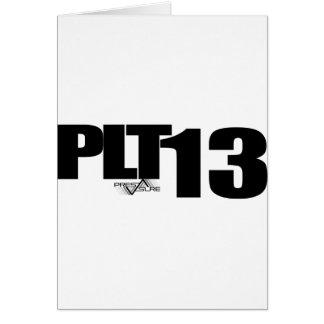 PLT13 GREETING CARD