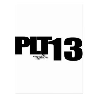 PLT13 POST CARD