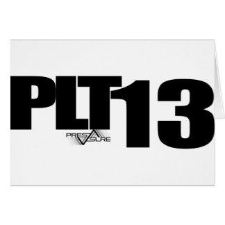 PLT13 TARJETA DE FELICITACIÓN