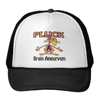Pluck Brain Aneurysm Awareness Design Trucker Hat