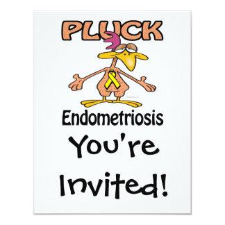 Pluck Endometriosis Awareness Design Card