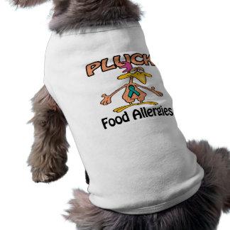 Pluck Food Allergies Awareness Design Doggie Shirt
