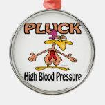 Pluck High Blood Pressure Awareness Design Ornament