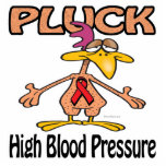 Pluck High Blood Pressure Awareness Design Photo Cut Outs